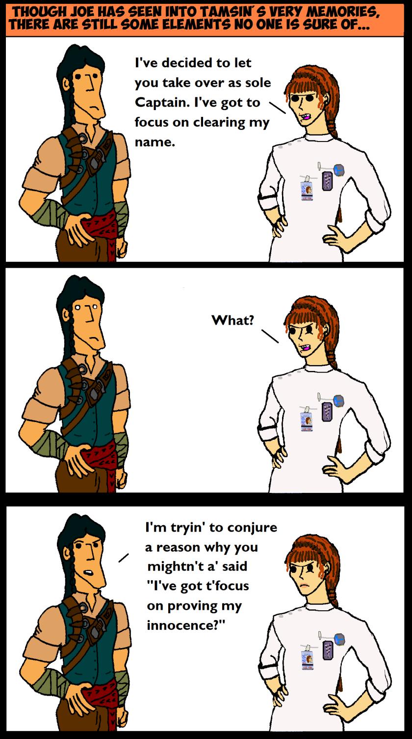 Co Captains Comic